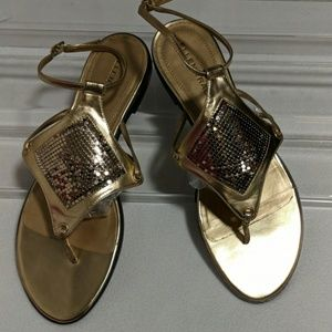 Ellen Tracy Janis Sandals Size 10